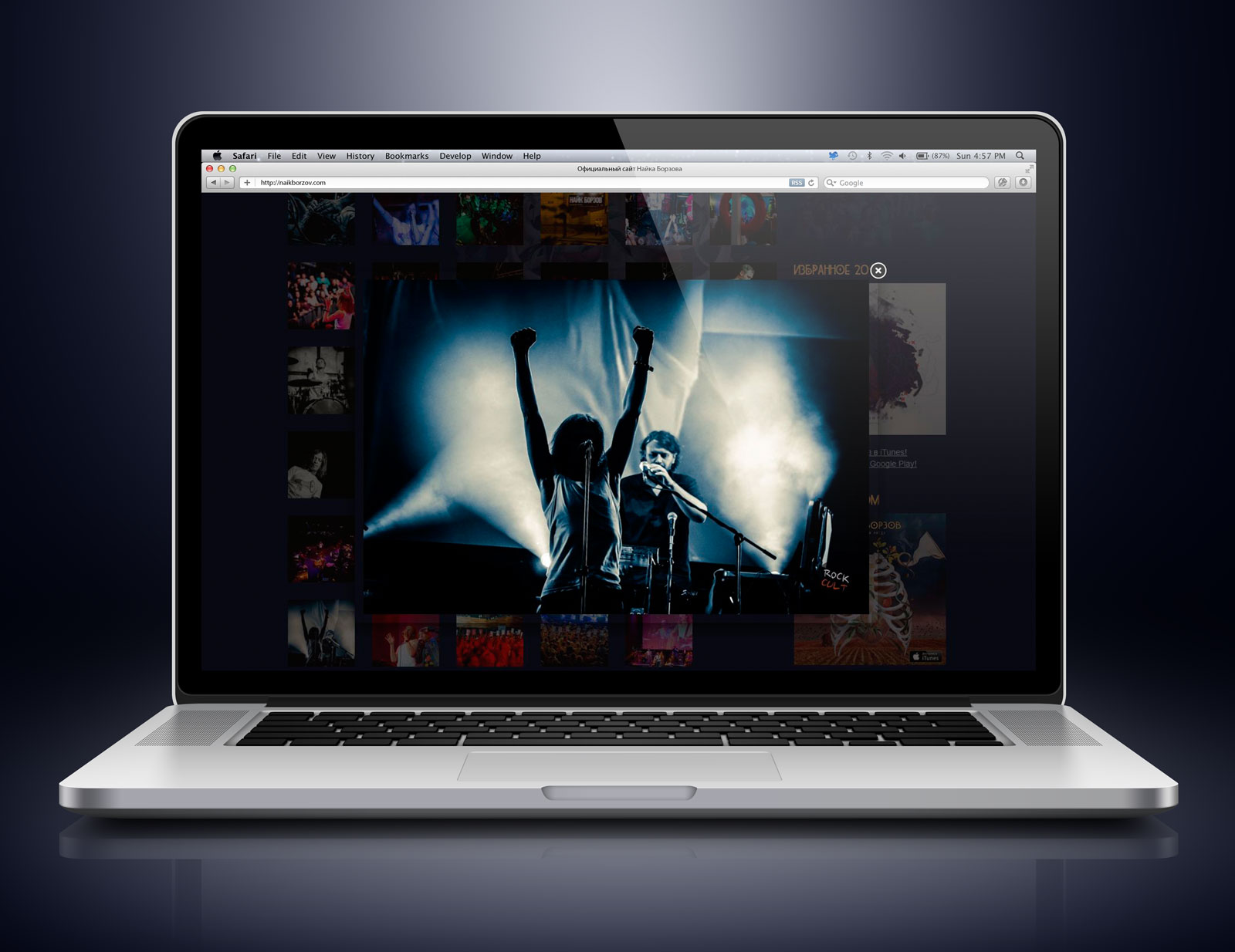 Сайт Найка Борзова - Фотоальбомы